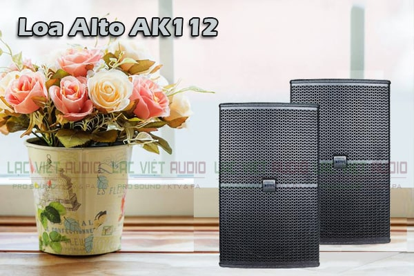 Thiết kế Loa Alto AK 112-Lạc Việt Audio