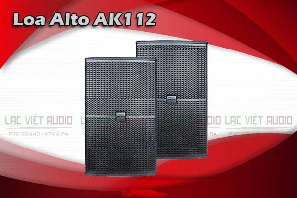 Tính năng Loa Alto AK112-Lạc Việt Audio