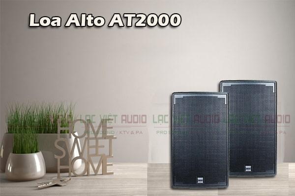 Loa Alto AT2000- Lạc Việt Audio