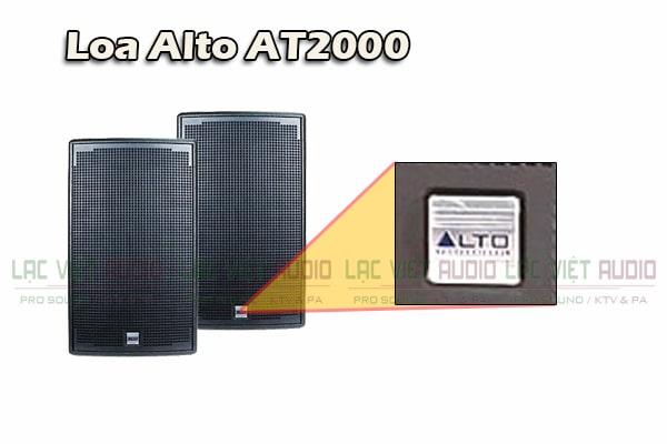 Chi tiết logo Loa Alto AT2000- Lạc Việt Audio