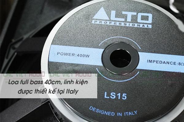 Cấu tạo củ loa của Loa Alto AT3000-Lạc Việt Audio