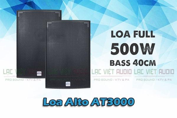 Tính năng Loa Alto AT3000-Lạc Việt Audio