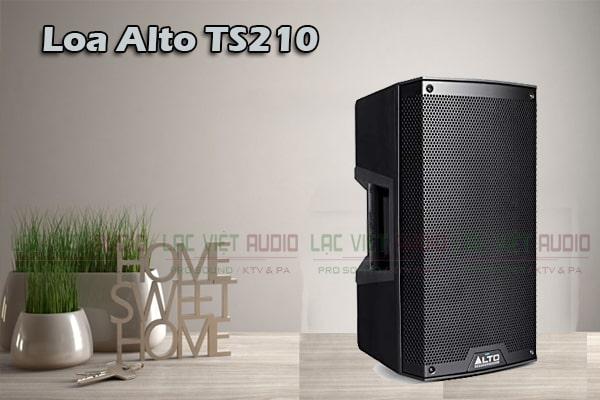 Tính năng Loa Alto TS210 (full điện bass 25cm)-Lạc Việt Audio