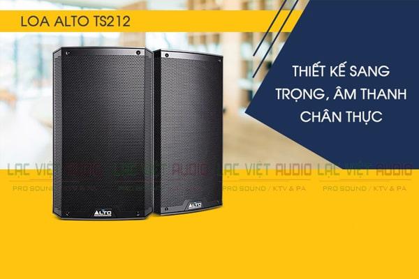 Tính năng Loa Alto TS212 (Full điện bass 30cm)-Lạc Việt Audio