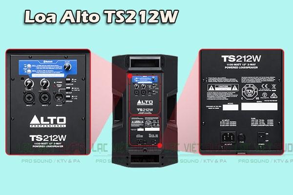 Chi tiết mặt sau Loa Alto TS212W - Lạc Việt Audio
