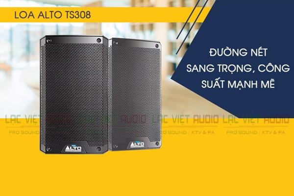 Tính năng Loa Alto TS308 - Lạc Việt Audio