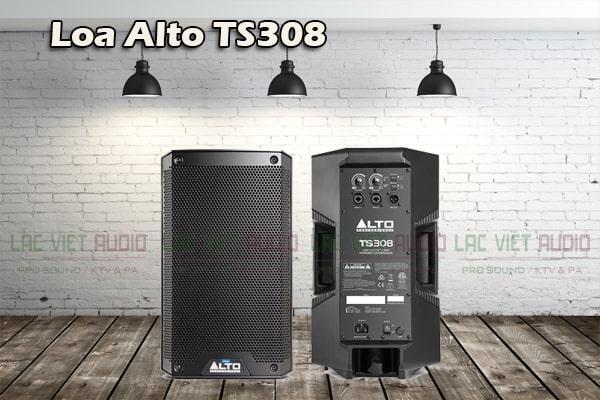 Thiết kế của Loa Alto TS308 - Lạc Việt Audio
