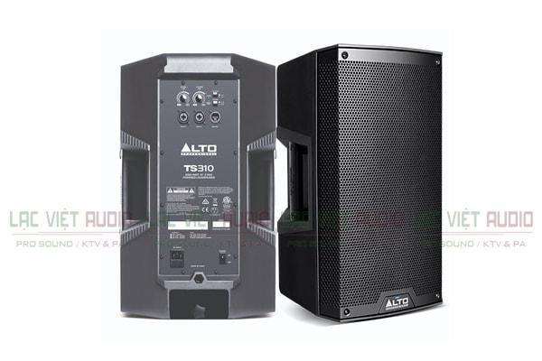 Mặt trước và sau Loa Alto TS310 - Lạc Việt Audio