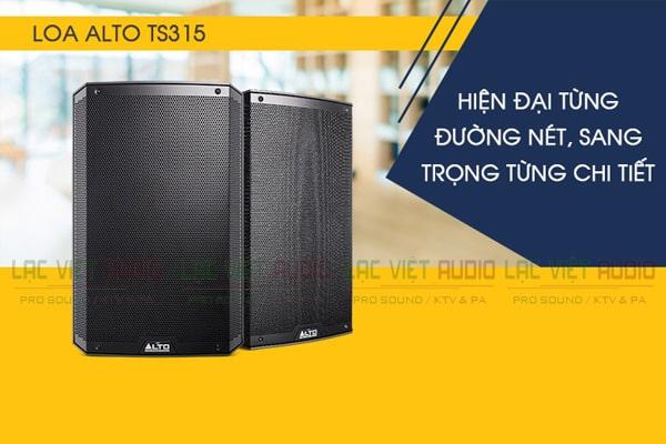 Thiết kế Loa Alto TS315 - Lạc Việt Audio