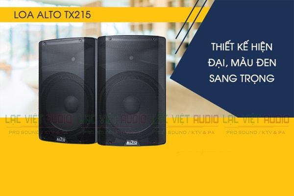 Tính năng Loa Alto TX208 - Lạc Việt Audio