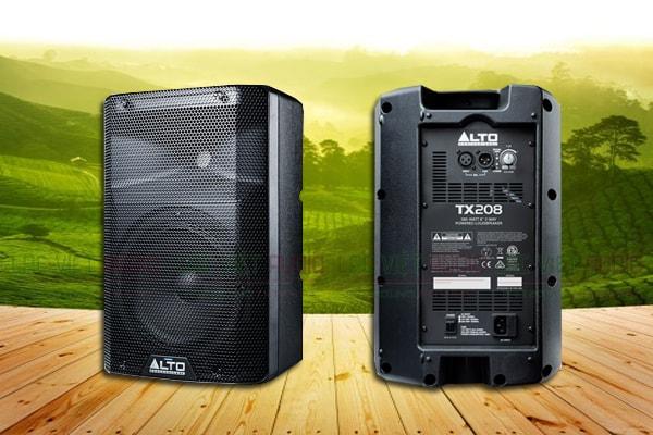 Mặt trước và sau Loa Alto TX208 - Lạc Việt Audio