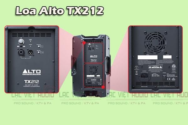 Chi tiết mặt sau Loa Alto TX212 - Lạc Việt Audio