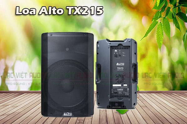 Thiết kế Loa Alto TX215 - Lạc Việt Audio