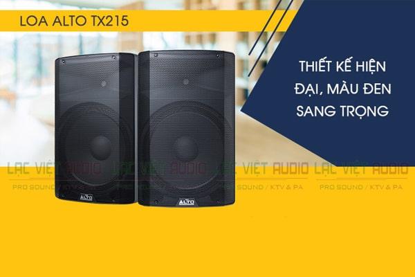 Tính năng Loa Alto TX215 - Lạc Việt Audio