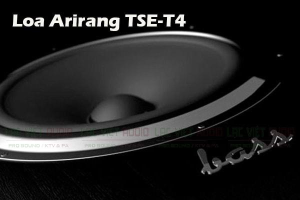 Thiết kế loa bass của Loa Arirang TSE T4- Lạc Việt Audio