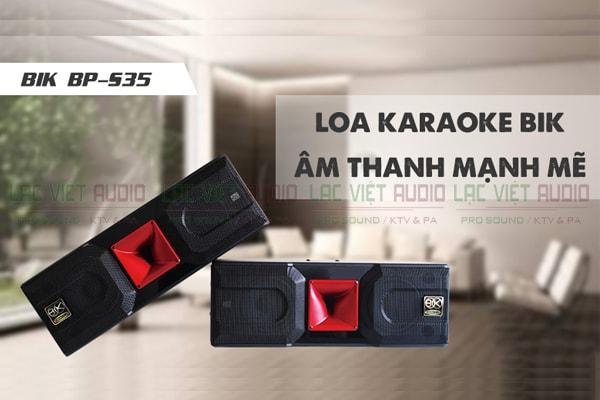Tính năng Loa BIK BP S35 - Lạc Việt Audio