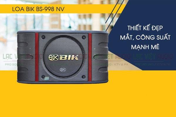 Thiết kế Loa BIK BS 998NV - Lạc Việt Audio