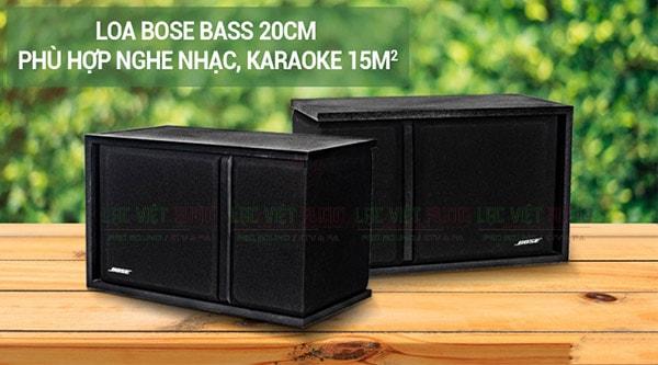 Tính năng của Loa Bose 301 seri III hàng bãi ( đen)