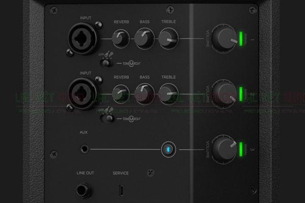 Bảng điều khiển của Loa Bose S1 Pro - Lạc Việt Audio