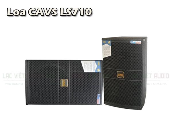 Thiết kế Loa CAVS LS710 - Lạc Việt Audio