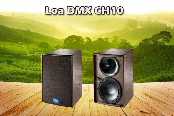 Thiết kế Loa DMX CH10 - Lạc Việt Audio