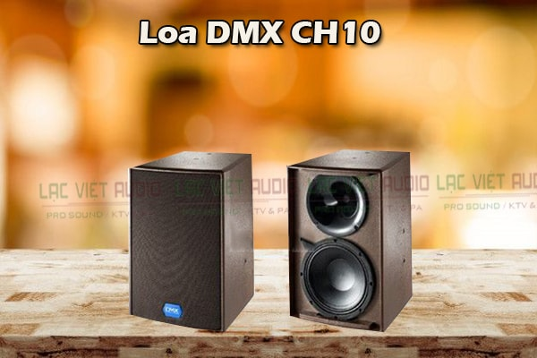Cấu tạo Loa DMX CH10 - Lạc Việt Audio