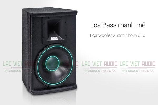 Cấu tạo loa bass Loa Domus DP 6100- Lạc Việt Audio