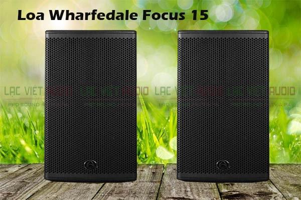 Thiết kế Loa Wharfedale Focus 15
