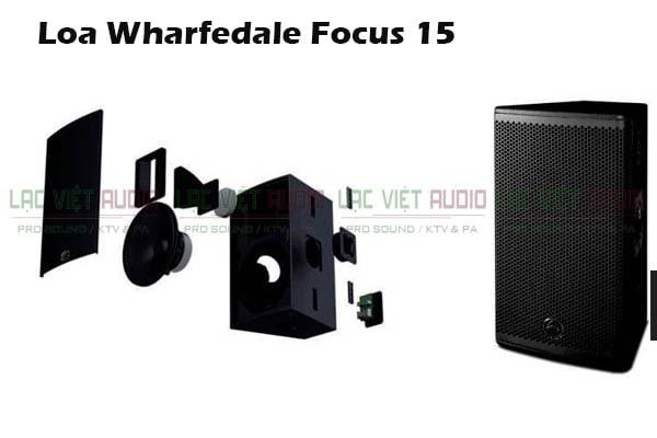 Cấu tạo Loa Wharfedale Focus 15