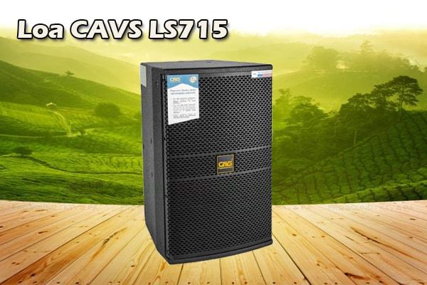 Thiết kế Loa CAVS LS715 - Lạc Việt Audio