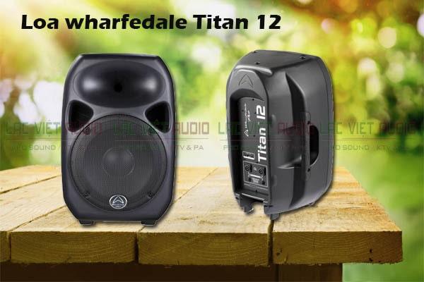 Thiết kế Loa Wharfedale Titan 12