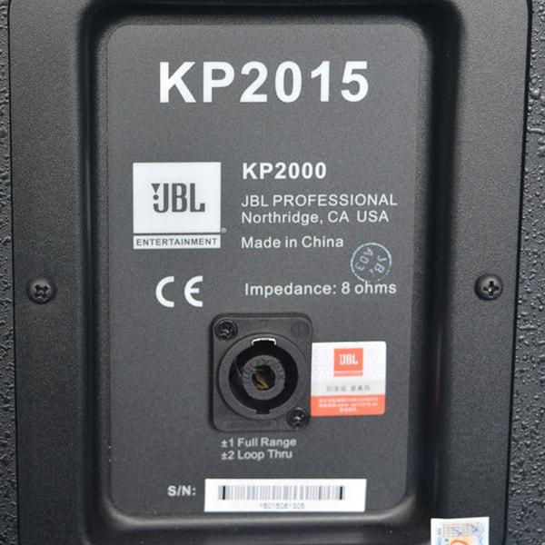 Mặt sau của loa JBL KP 2015 - Lạc Việt Audio