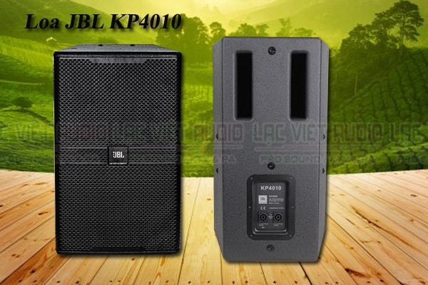 Mặt trước và sau của loa JBL KP 4010 - Lạc Việt Audio