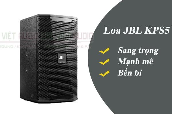 Tính năng của loa JBL KPS5 - Lạc Việt Audio
