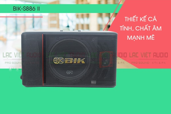Loa BIK BJ S886II - Lạc Việt Audio