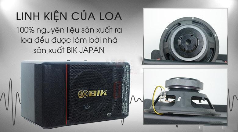 Tính năng của Loa BIK BJ S886II - Lạc Việt Audio