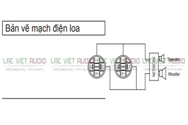 Sơ đồ mạch điện của Loa karaoke BMB CSP 3000 - Lạc Việt Audio