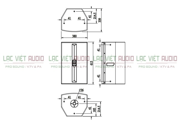 Thông số của loa karaoke BMB CSP 5000 - Lạc Việt Audio