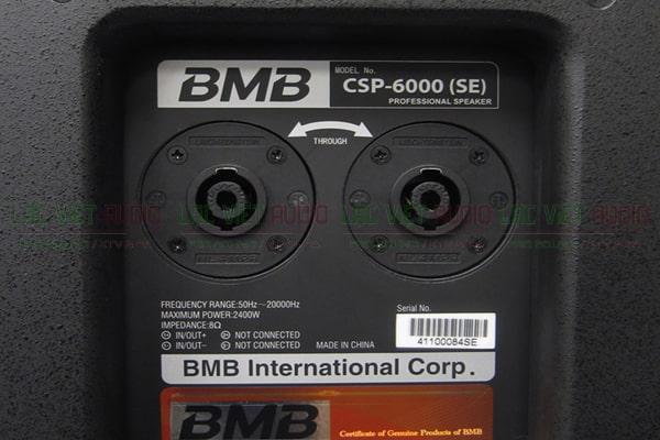Mặt sau của Loa BMB CSP 6000 - Lạc Việt Audio