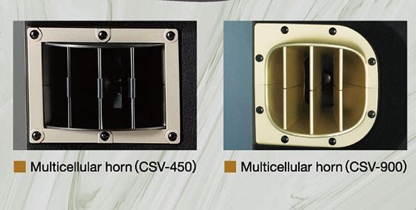 Thiết kế mặt trước loa BMB CSV 450 Lạc Việt Audio