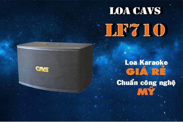 Tính năng của Loa CAVS LF710