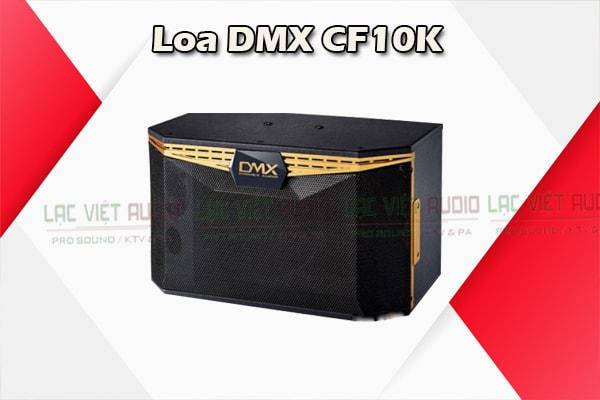 Cấu tạo Loa DMX CF10K - Lạc Việt Audio