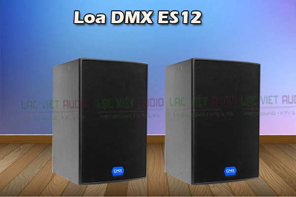 Thiết kế của sản phẩm Loa DMX ES 12 - Lạc Việt Audio