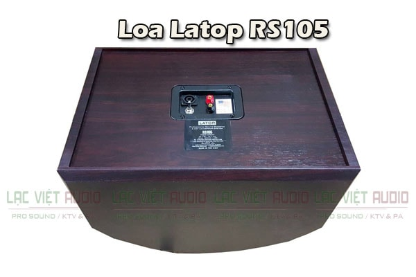 Cấu tạo mặt sau Loa Latop RS 105 - Lạc Việt Audio