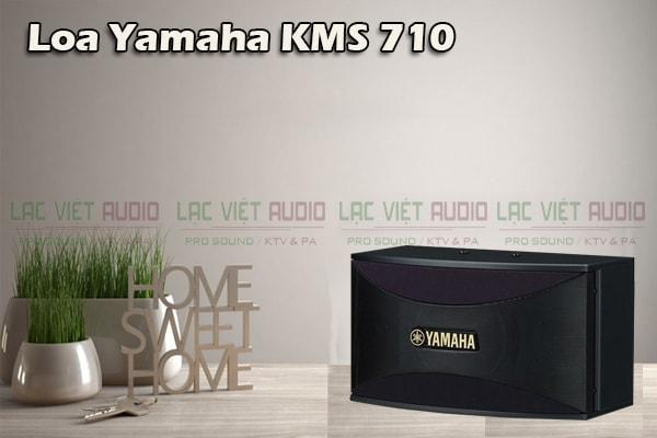 Thiết kế của sản phẩm Loa yamaha KMS 710- Lạc Việt Audio