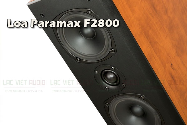Chi tiết mặt trước Loa Paramax F2800