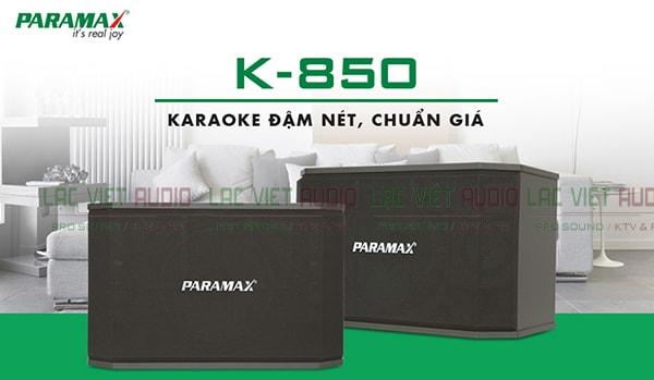 Tính năng Loa karaoke paramax K850 - Lạc Việt Audio