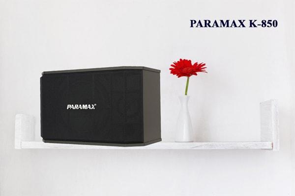Thiết kế Loa karaoke paramax K850 - Lạc Việt Audio