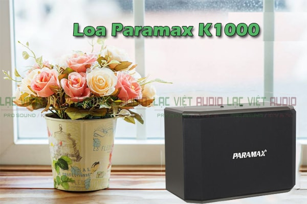 Tính năng Loa karaoke paramax K1000 - Lạc Việt Audio
