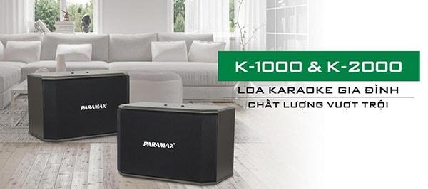 Tính năng của Loa Paramax K2000